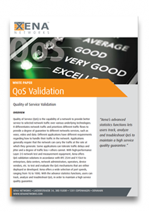 Xena Quality of Service White Paper
