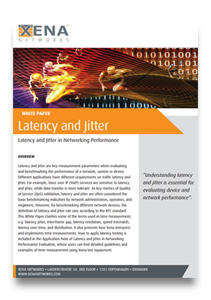 Xena Latency & Jitter White Paper