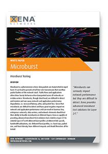 Xena Microburst White Paper